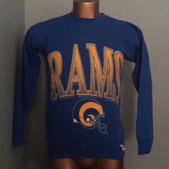83393ebf Vintage Los Angeles Rams Crewneck Sweatshirt